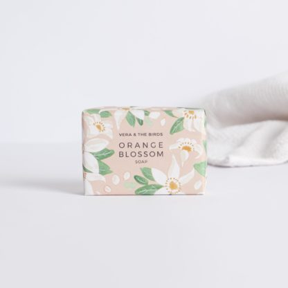 Orange blossom soap Vera & the birds